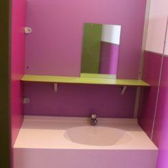 Sanitaire 2 - Lavabo pour les petits